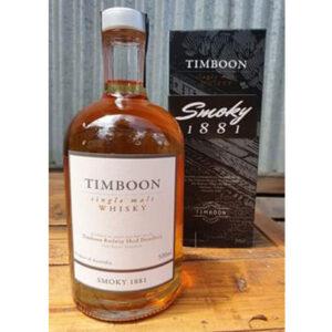 Timboon Smoky 1881 Single Malt Australian Whisky 500ml