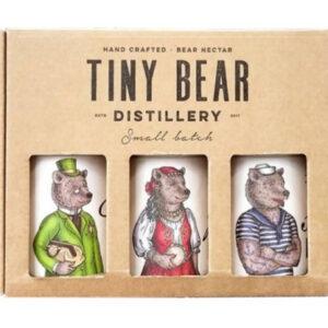 Tiny Bear Distillery Trio Gift Box 3 x 200ml