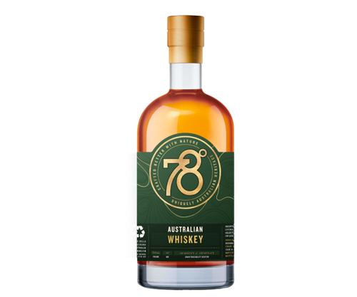 Adelaide Hills Distillery 78 Degrees Australian Whiskey 700ml