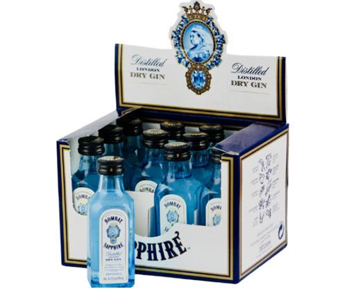 Bombay Sapphire Gin 50ml x 12