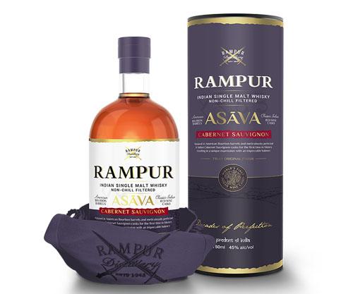 Rampur Asava Indian Single Malt Whisky 700ml