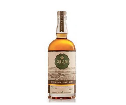 Shelter Point Cask Strength Canadian Single Malt Whisky 750ml