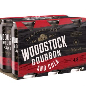 Woodstock Bourbon & Cola Cans 375mL 6 Pack