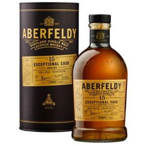 Aberfeldy 15 Year Old Exceptional Cask Sherry Finish Single Malt Scotch Whisky 700ml