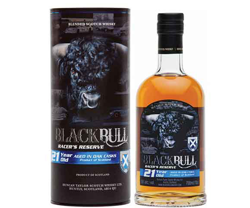 Black Bull 21 Year Old Racers Reserve Blended Scotch Whisky 700ml
