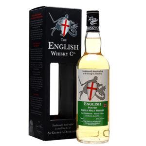 English Whisky Co Peated Single Malt English Whisky 700ml