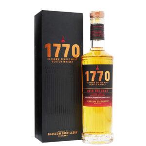 Glasgow 1770 2019 Release Single Malt Scotch Whisky 500ml