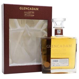 Glencadam Single Cask 1989 28 Year Old Single Malt Scotch Whisky 700ml