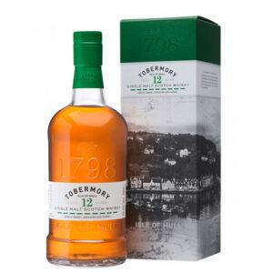 Tobermory 12 Year Old Single Malt Scotch Whisky 700ml